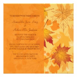 Fall Intensity Invitation