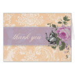 GC Vintage Bridal Shower Tea Party Thank You Card