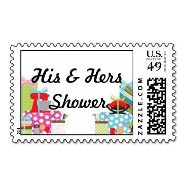 His & Hers Shower Postage