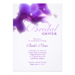 Purple Bridal Shower Invitation