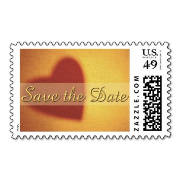 Save the Date postage stamps